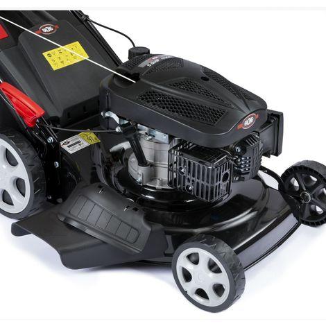 Racing 5096-AC 4-in-1 Hi-Wheel Self-Propelled Petrol Lawnmower