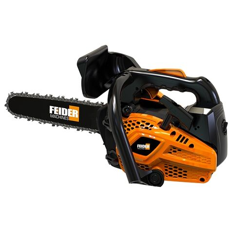 Feider PRO 25 Top Handle Petrol Chainsaw 25cc - Oregon Chain and Guide Bar (25cm Guide-Bar) - FELPRO25