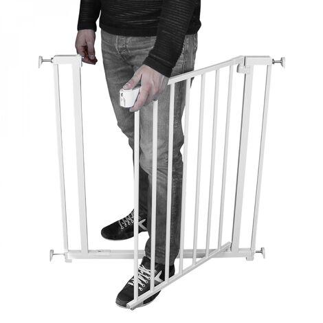 Barrière de sécurité extensible de 73 à 132,5 cm - Monsieur Bébé