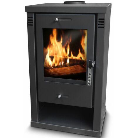 Poele à bois max 10.5KW - Warmtech