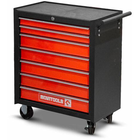 Servante d'atelier métallique 7 tiroirs - Movitool