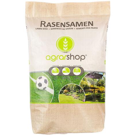 Semences à gazon Pelouse Universal 10 kg Prairie Semences d'herbe Ombre Jeu Sport Bain de soleil