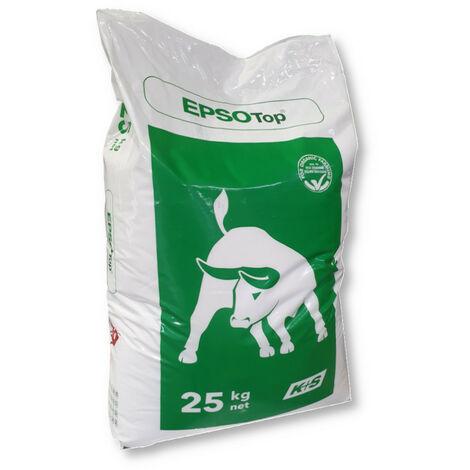 Sel d'Epsom 25 kg Engrais pour résineux Engrais pour aiguilles Engrais de couverture Engrais de pin Magnésium