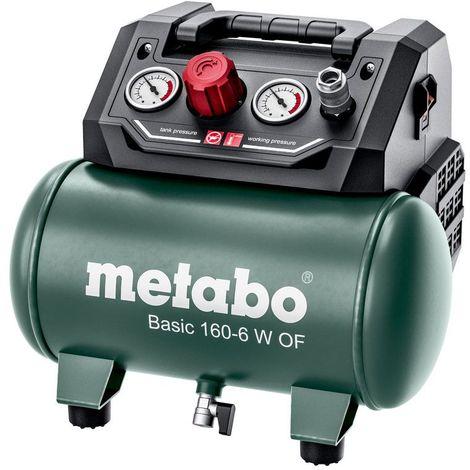 Metabo BASIC 160 6 W OF (601501000) COMPRESSEUR BASIC 8 Bar, 65 L/Min