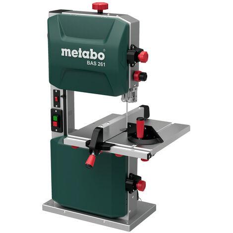 Metabo Scie ruban BAS 261 precision 400W 619008000 lame livree avec