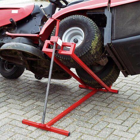 MercartoXL Palan Aufsitzmäher-, tracteur à gazon Lifter max. 400 kg