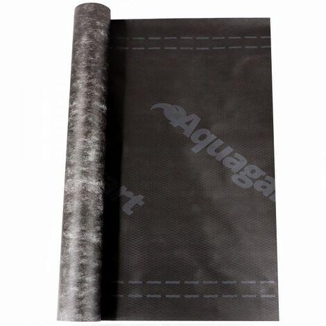 75 m² membrane de sous-couche, membrane de coffrage, membrane de toiture, membrane de sous-couche de toiture 130 g / m², 1,5 m de large