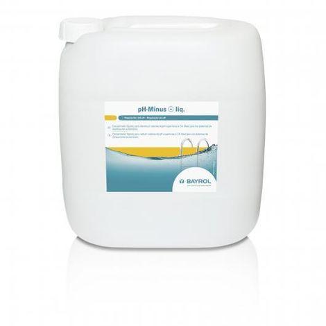 Reductor pH- Minus Líquido Bayrol 20l 7594320