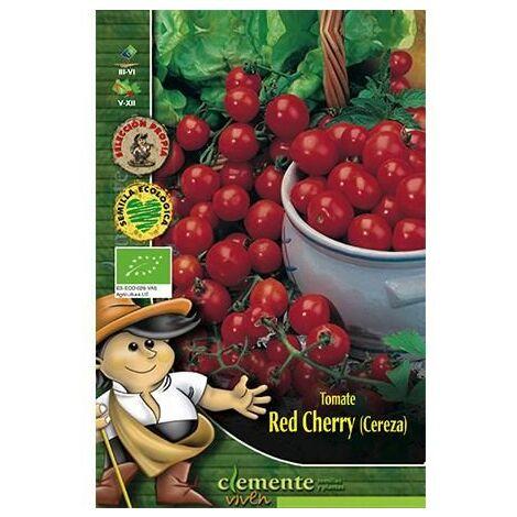 Semillas Ecológicas De Tomate Red Cherry