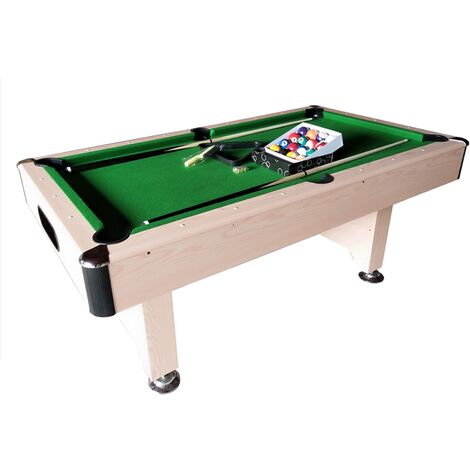 Walker & Simpson Captain Table / Air King Cyclone 6ft Slate Bed Pool Table