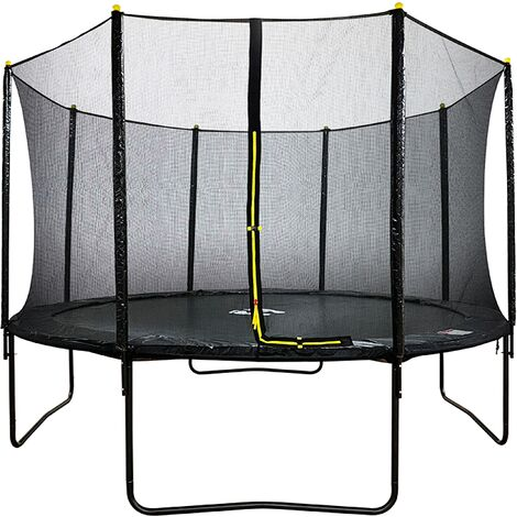 Velocity 14ft Powder Coated Trampoline with Safety Enclosure