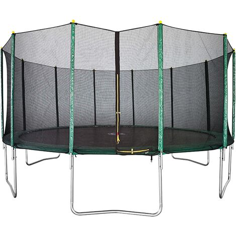 Velocity 16ft Trampoline with Safety Enclosure