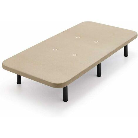 Base tapizada 3D BASE + PATAS 26CM 90x190