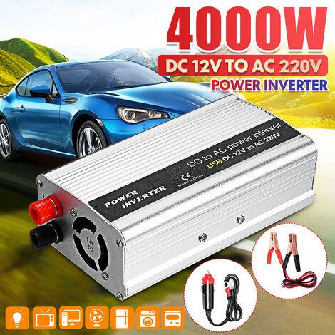 Inverter da 4000 W DC 12V a AC 220V Inverter da campeggio a onda sinusoidale modificata con alimentazione per auto