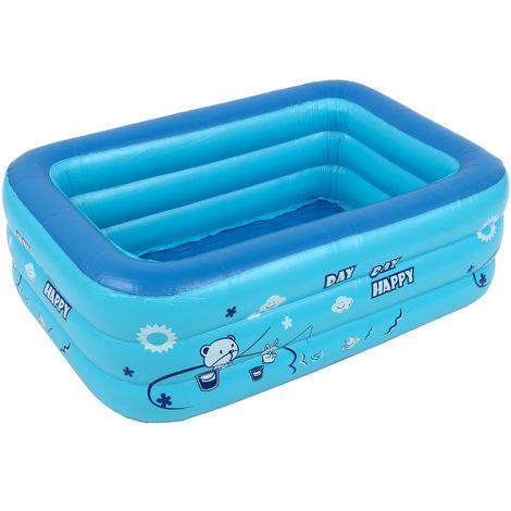 Aufblasbarer Pool für Kinder Badewanne für den häuslichen Gebrauch Planschbecken