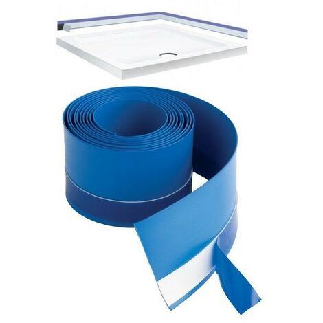 Shower Tray Bath Basin Flexible Waterproof Seal Strip Upstand Sealant - 2.8m