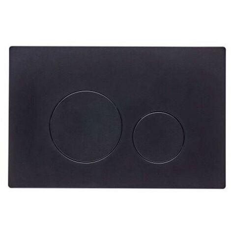 Roper Rhodes Rondo Dual Flush Plate Button Matt Black For TR9001 TR9002 TR9009