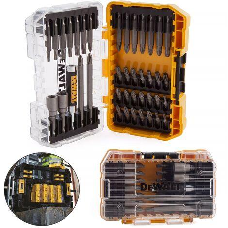 Dewalt DT70702 40 Piece Impact Screwdriver Bit Set + Tough Case Fits TStak Caddy
