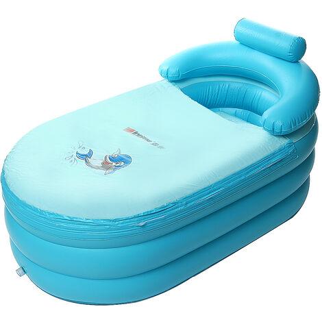Grande baignoire gonflable adulte douche PVC gonflable Blow Up SPA Massage Air Tub
