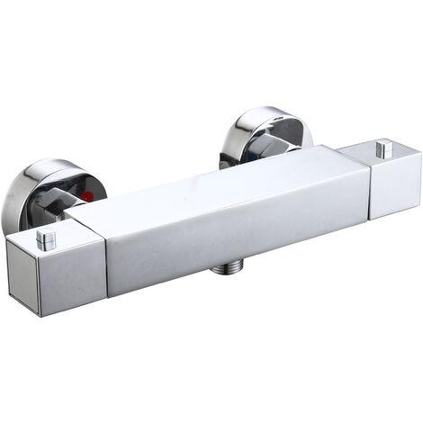 Grifo termostático de ducha Medina con set de fijación