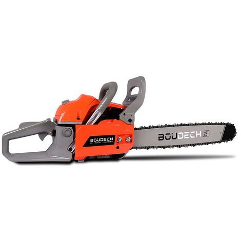 Compact Petrol Chainsaw 2-stroke engine 20'' guide bar.