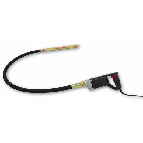 800 W Vibreur à béton électrique (1,5 m Tuyau, 35 mm Aiguille vibrante, Poignée confortable) Vibrateur Pervibrateur