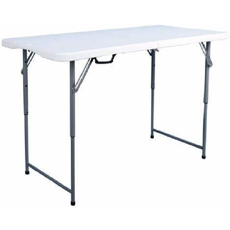Oypla 4ft 1.2m Folding Heavy Duty Outdoor Trestle Party Garden Table