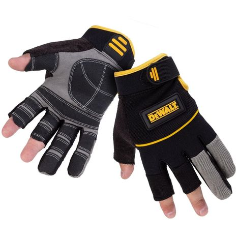 DeWalt Tough Framer Performance Glove (One Size) (Grey/Black/Yellow)
