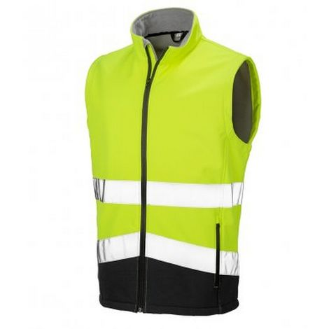 Result Adults Safe-Guard Printable Safety Soft Shell Gilet