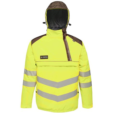 Regatta Mens Tactical Hi Vis Waterproof Reflective Overhead Bomber Jacket