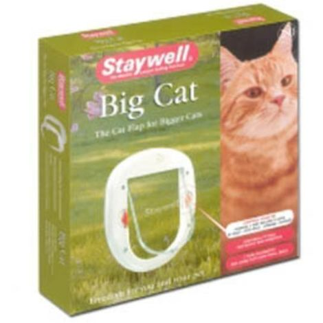 Petsafe Staywell Deluxe Magnetic Pet Door (One Size) (White)
