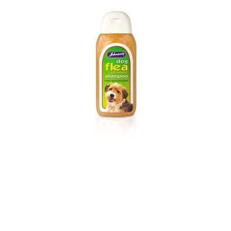 Johnsons Dog Flea Cleansing Liquid Shampoo (125ml) (May Vary)