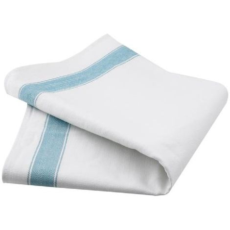 Belledorm Professional Tea Towels (Pack Of 2) (One Size) (White)