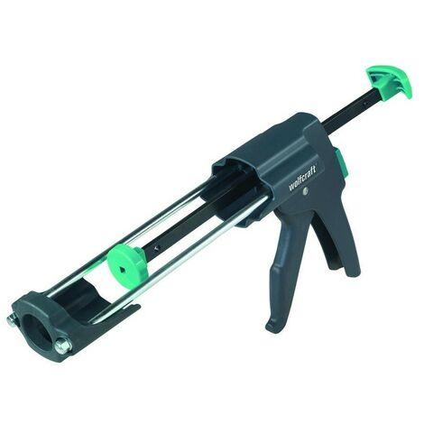 WOLFCRAFT 4356000 - MG 600 PRO pistola de cartuchos mecanica con mayor potencia