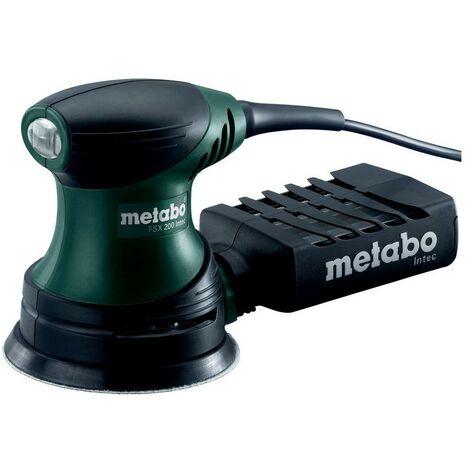 Metabo 609225500 Lijadora excéntrica para madera FSX 200 Intec 240W Con maletín