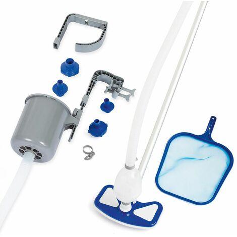 Bestway Kit de limpieza para piscinas 279cm Deluxe mantenimiento accesorios de limpieza