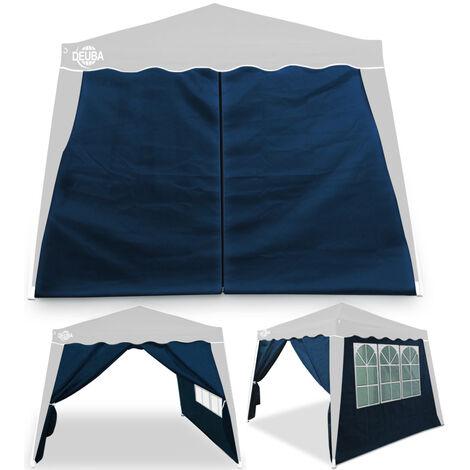 Deuba Carpa plegable pabellon de Jardin cenador Capri 3x3m de jardín impermeable y Pop Up para eventos camping exterior