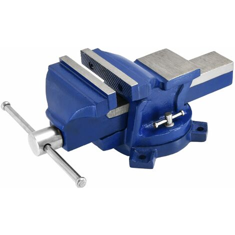Etau parallèle d''établi rotatif avec enclume 125 ou 150mm outils bricolage
