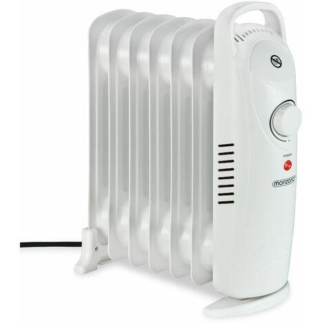 Elektroheizung monzana® Ölradiator Heizer Heizlüfter Öl Radiator (Überhitzungsschutz / 3 Heizstufen / Tragbar)