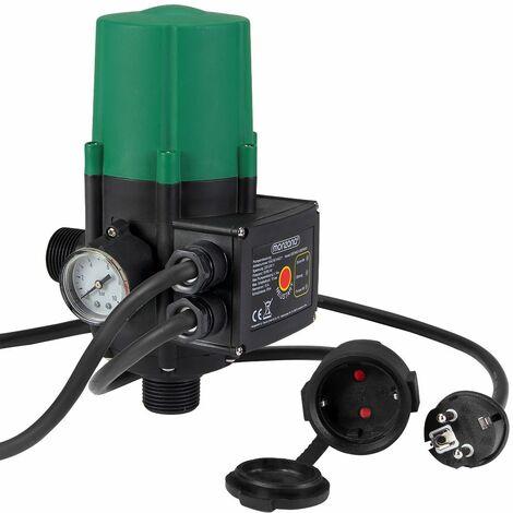 monzana® Druckschalter Pumpensteuerung Druckwächter Baranzeige mit/ohne Kabel