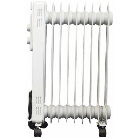Oil Filled Radiator White