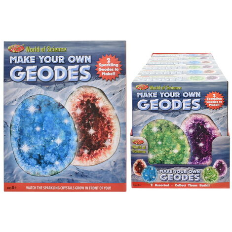 Make Your Own 2pc Geodes