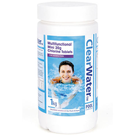 Clearwater 1kg Multifunction Mini Tablets (20g)