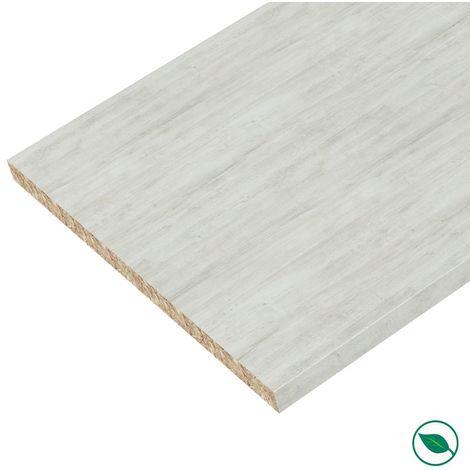 Plan de travail stratifié Chêne blanchi 2770 x 640 EP 28 mm PEFC75%