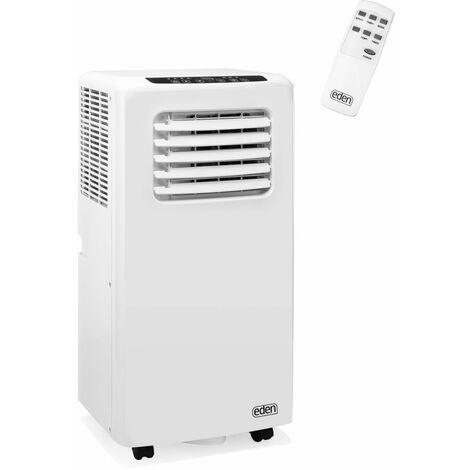 EDEN Climatiseur mobile 3 en 1 - 9000 BTU, 34 m², télécommande, classe énergétique A