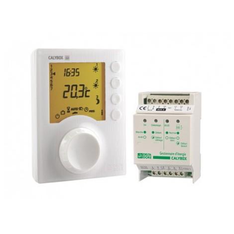 Gestionnaire d'énergie CALYBOX 230 pour chauffage élec. 1 à 3 zones - Delta Dore