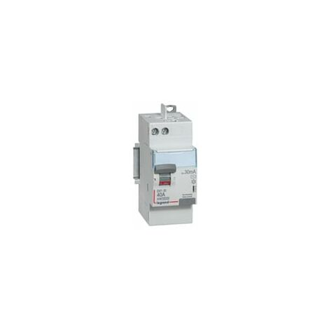 Interrupteur différentiel DX³-ID - 2P 230V - typeA 30mA