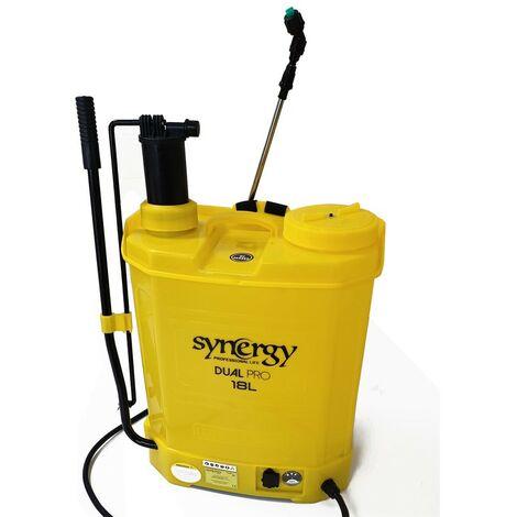 Sulfatadora mochila 12V Synergy Dual Pro 2en1 de 18L