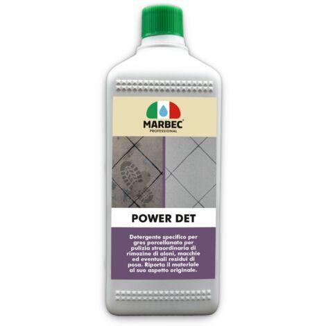 POWER DET   Detergente smacchiatore intensivo per gres porcellanato