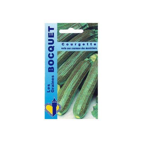 Courgette verte non coureuse des maraichers - 5g